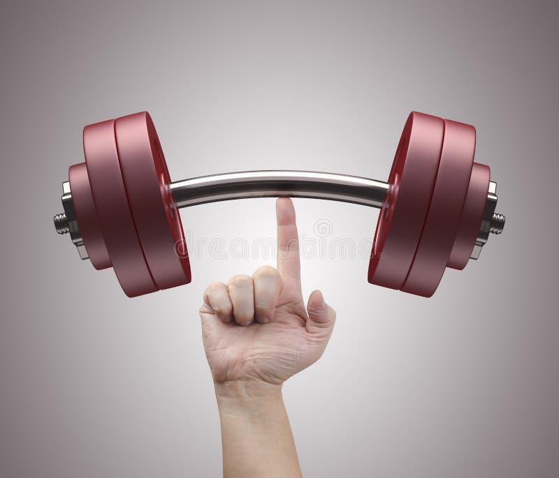 Gewichtheffen stock foto's