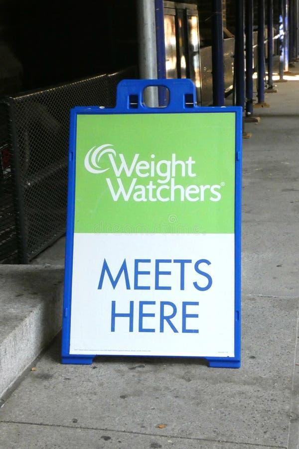 Gewichts-Beobachter lizenzfreie stockfotos