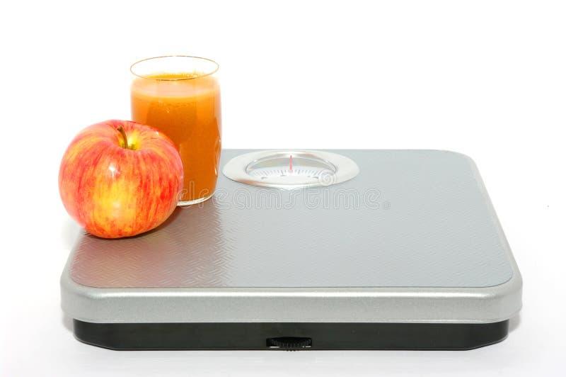 Gewichtskala lizenzfreie stockfotografie