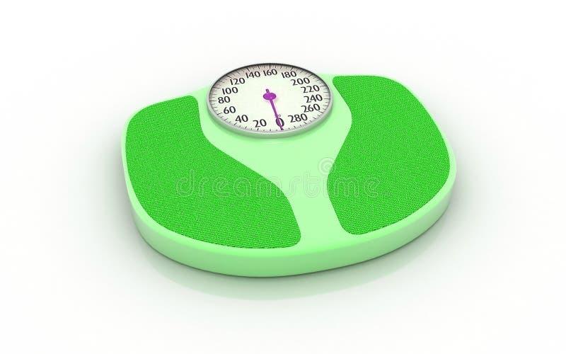 Gewichtskala vektor abbildung