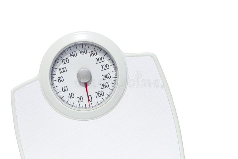 Gewichtskala lizenzfreie stockbilder