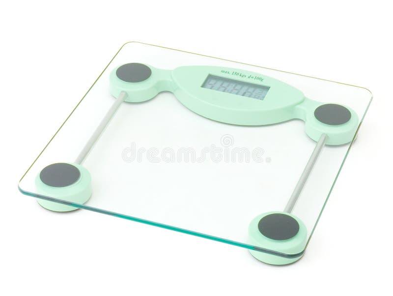 Gewichtskalierunghilfsmittel lizenzfreie stockfotografie