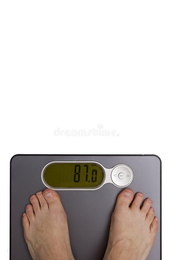 Gewichtskontrolle lizenzfreie stockbilder