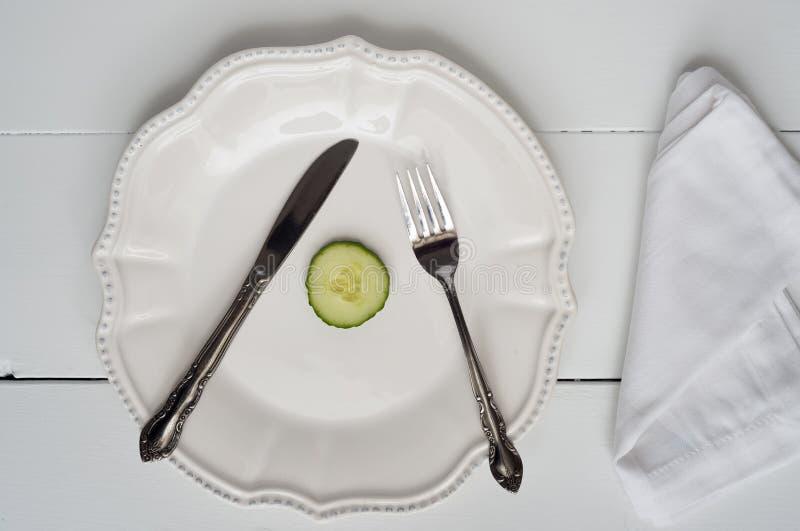 Gewichtsverlies - Nieuwjarenresolutie royalty-vrije stock afbeelding
