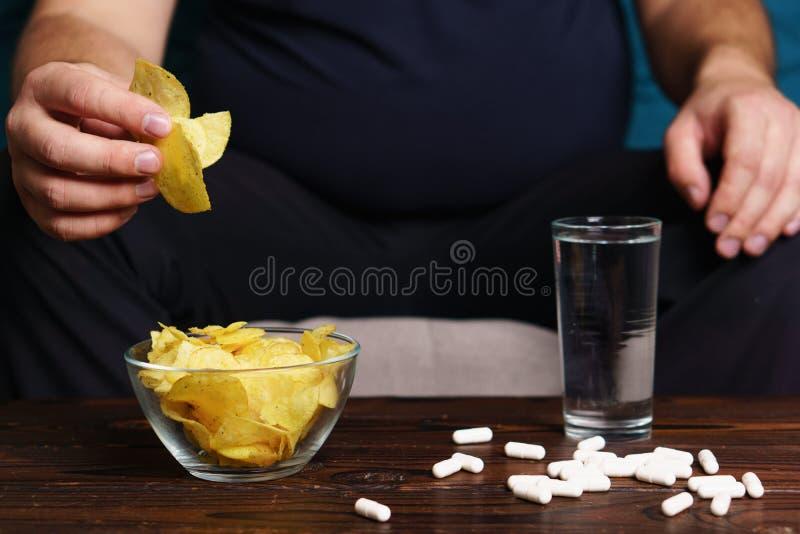 Gewichtsverlust, Atherosclerose, Diabetesverhinderung lizenzfreie stockfotografie