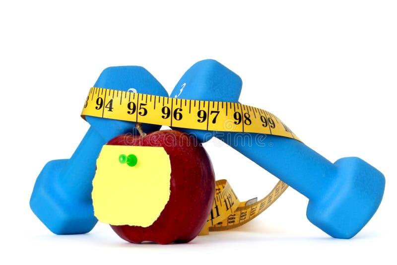 Gewichtverlust stockfoto