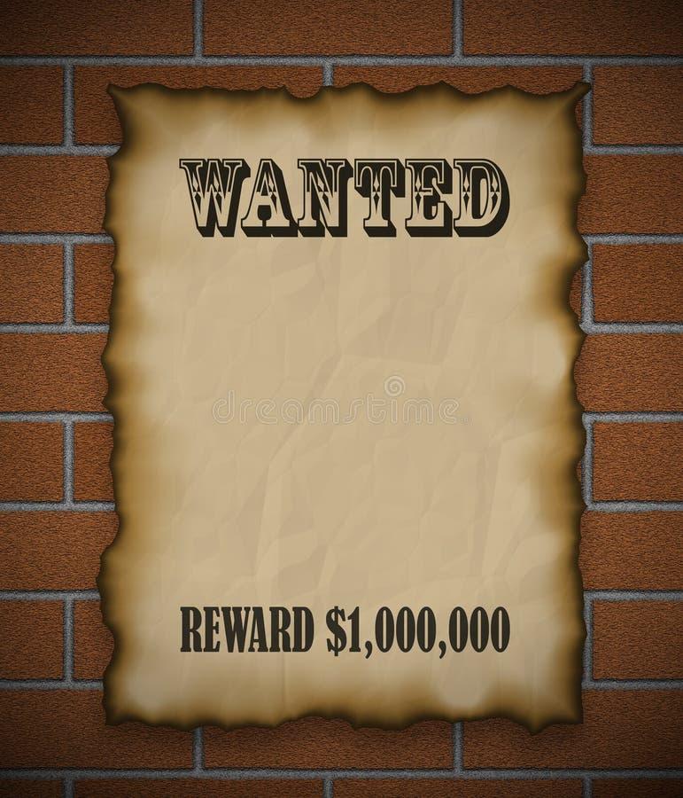 Gewild! royalty-vrije illustratie