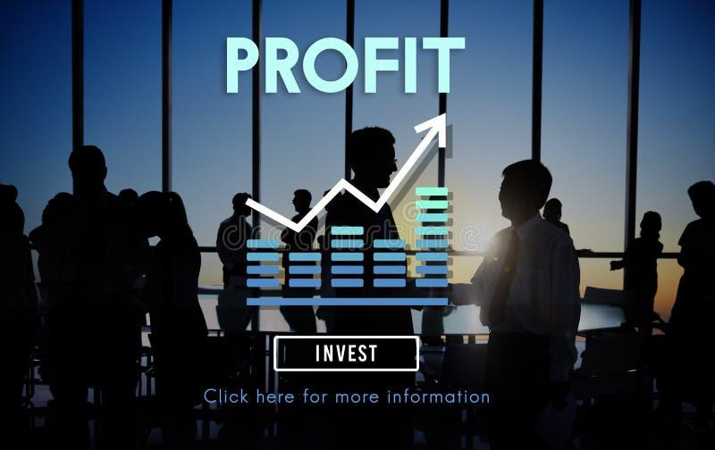 Gewinn-Buchhaltungs-Nutzen-Anlagegut-Konzept vektor abbildung