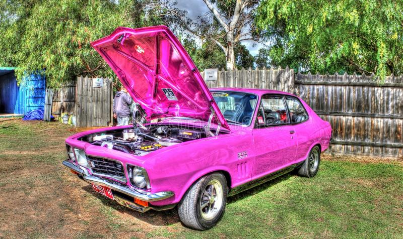 Gewohnheit gemalte siebziger Jahre Holden Torana stockfotos