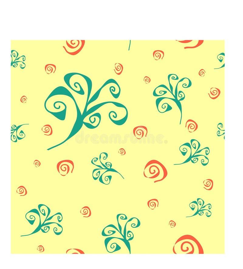 Gewundenes Strudel-Zusammenfassungs-Muster stockbilder