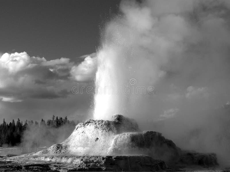geyser κάστρων στοκ φωτογραφίες με δικαίωμα ελεύθερης χρήσης