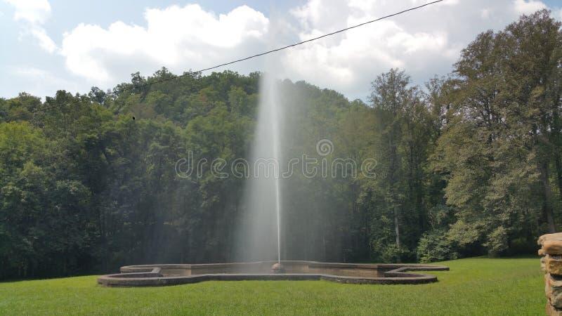geyser royaltyfri bild