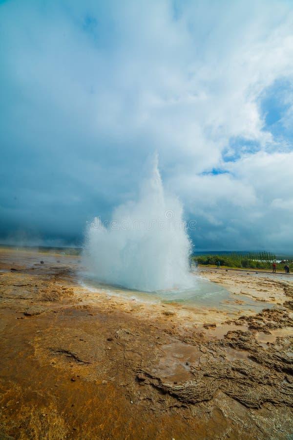 Geyser de l'Islande photos stock