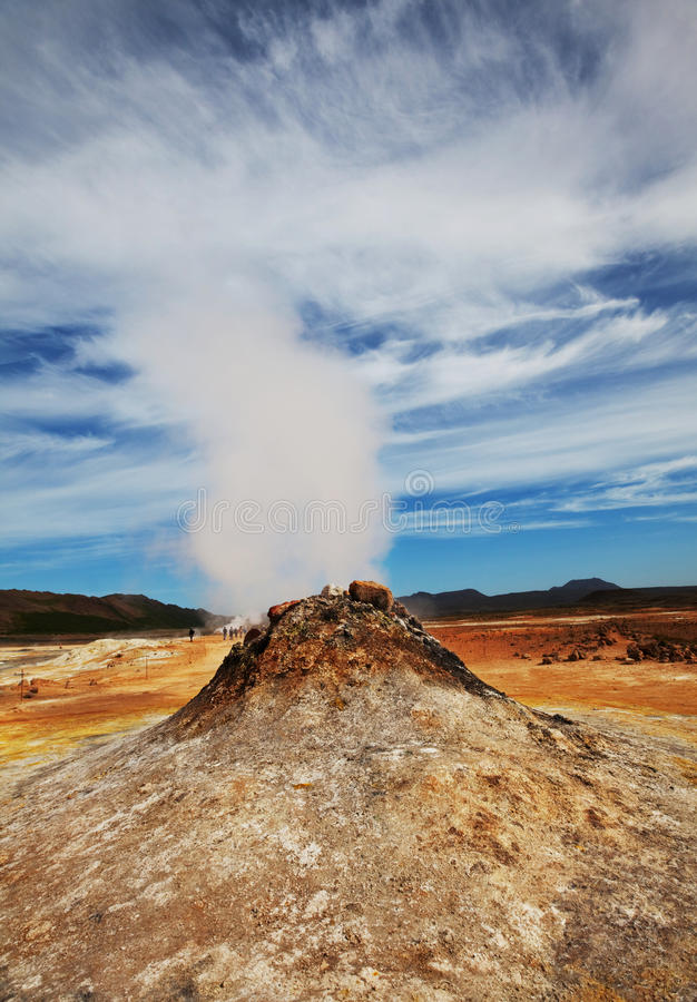 Download Geyser In Iceland Royalty Free Stock Image - Image: 21031566