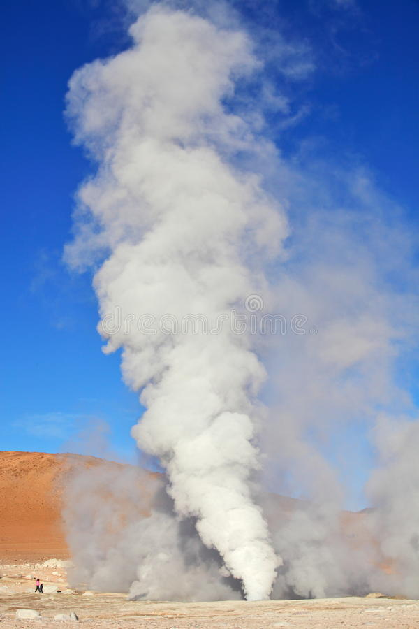 Geysers royalty free stock images