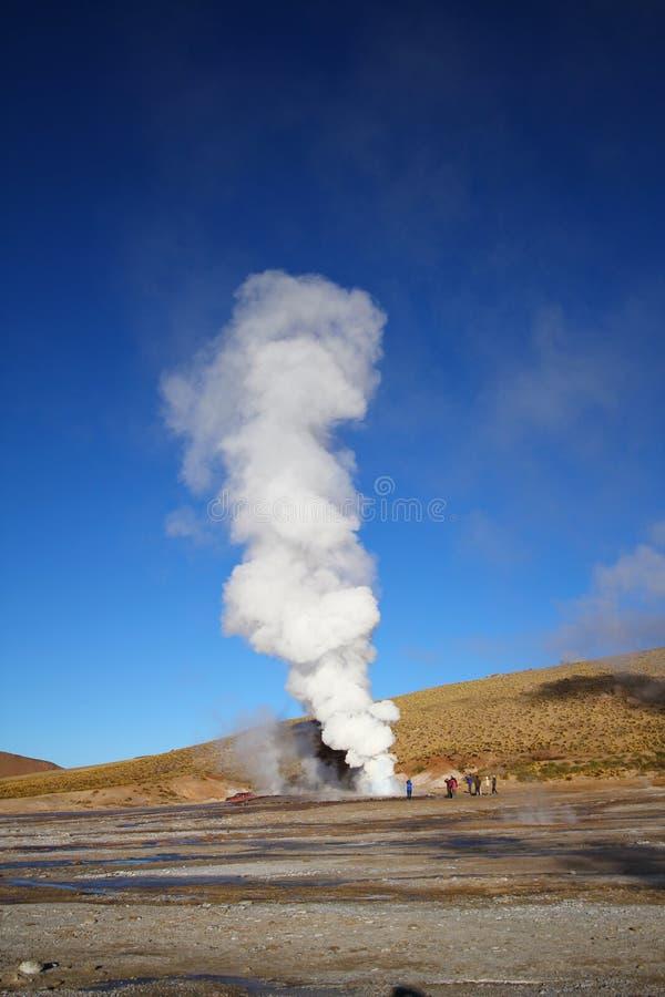 geysers taito στοκ φωτογραφίες