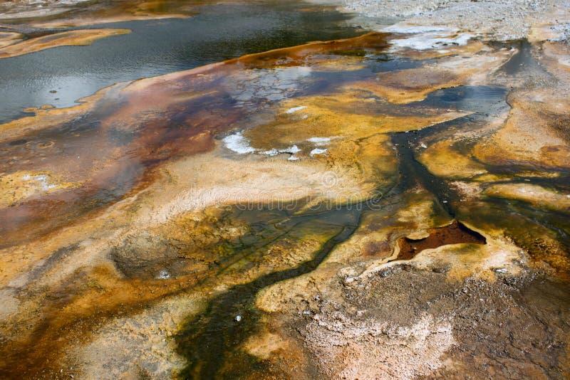 Geysir-Bassin-Fluss lizenzfreie stockbilder