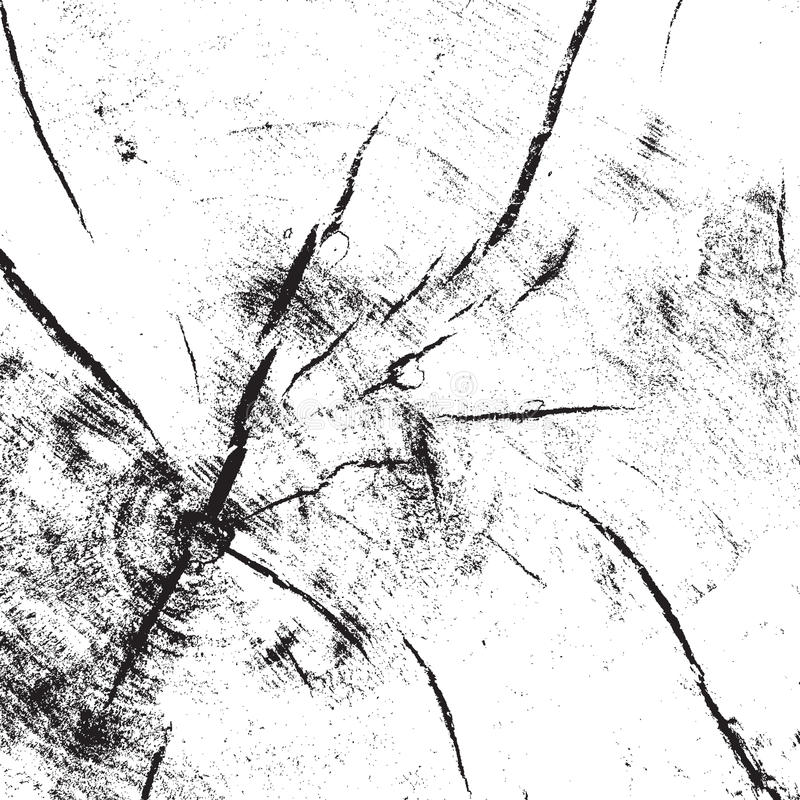 Gezaagde Houten Textuur stock illustratie