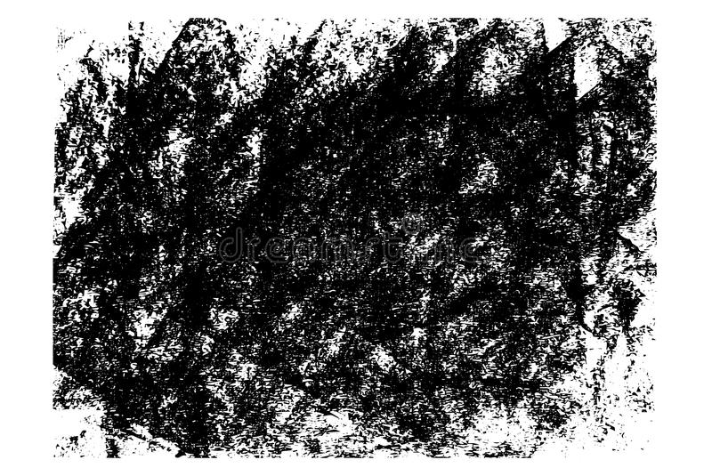 Gezeichnete Schmutzbeschaffenheiten des Vektors Hand lizenzfreie abbildung