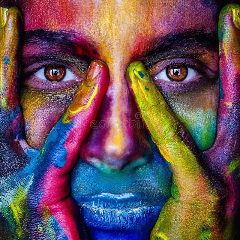Gezicht, Kunst, Moderne Kunst, Het Schilderen Gratis Openbaar Domein Cc0 Beeld