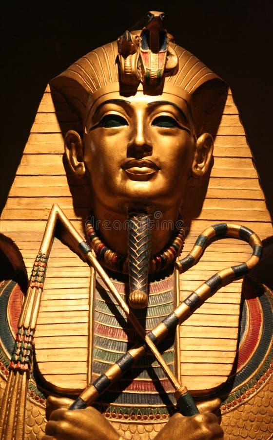 Gezicht van de Farao royalty-vrije stock afbeelding
