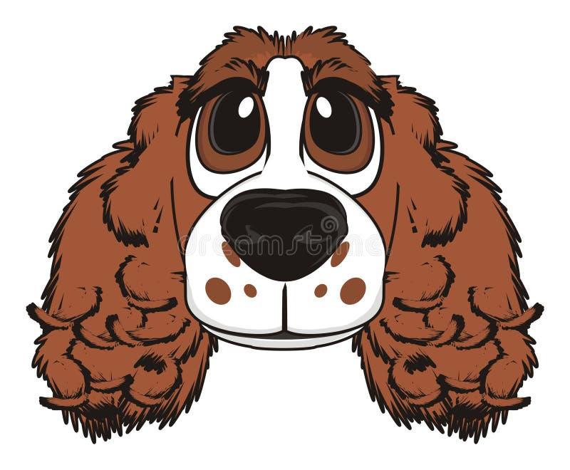 Gezicht van hond vector illustratie