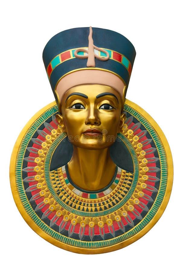 Gezicht van Nefertiti royalty-vrije stock afbeelding