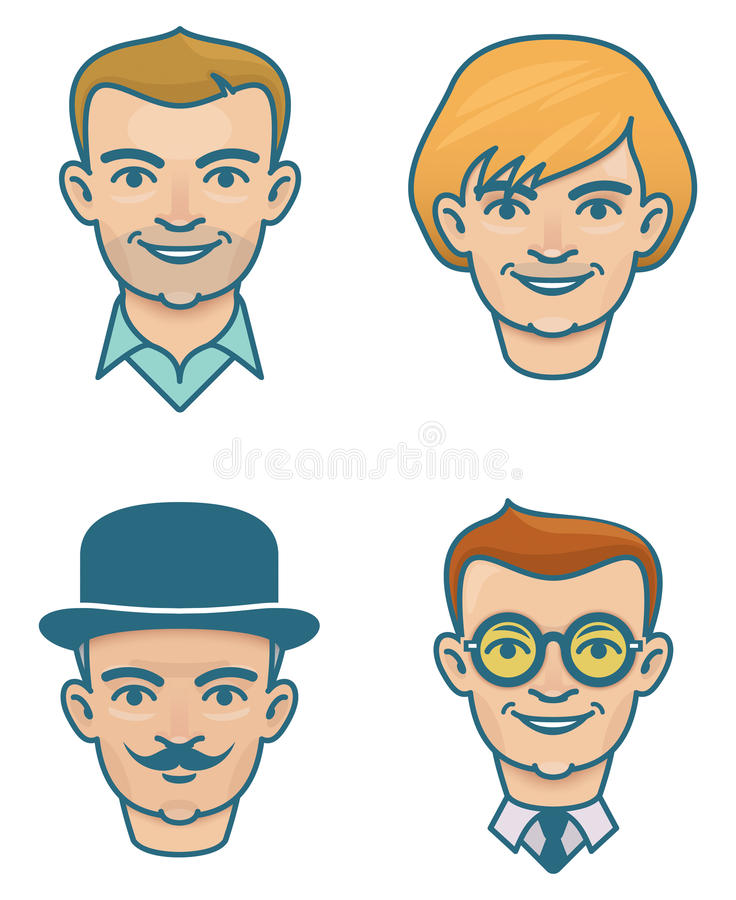 gezichten stock foto's