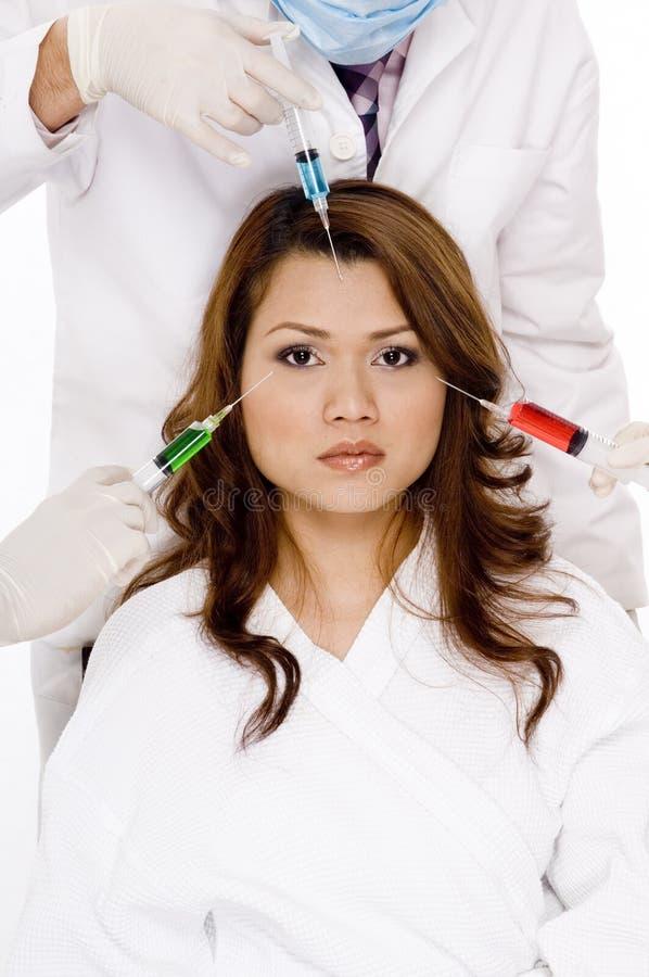 Gezichts Injecties stock foto