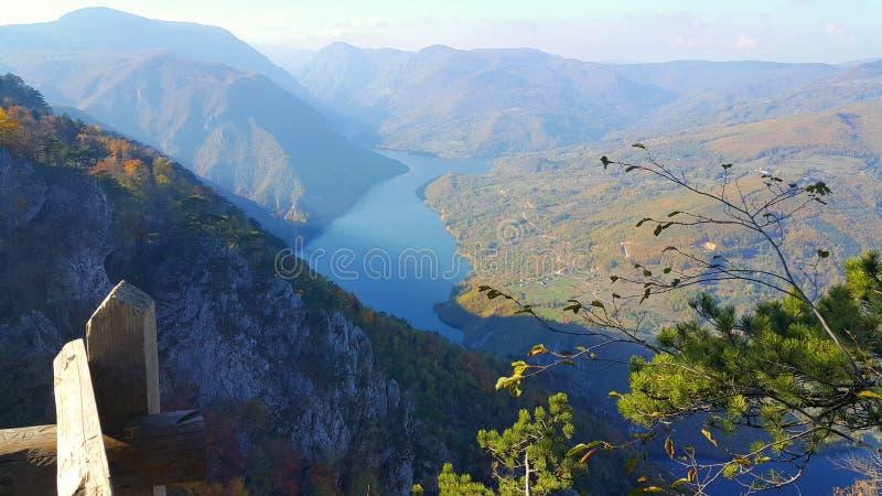 Gezichtspunt van Tara Mountain royalty-vrije stock fotografie
