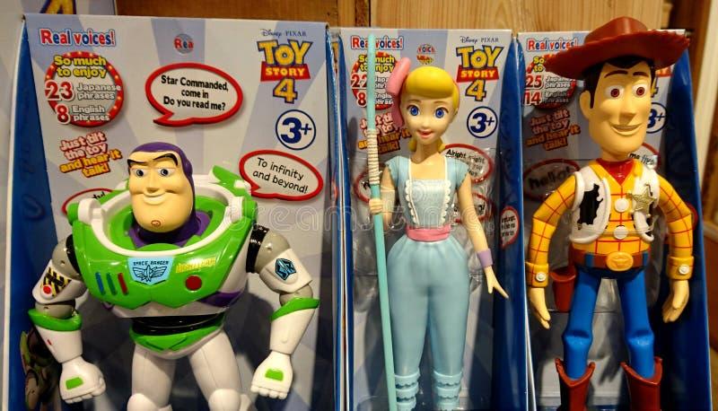 Gezoem, Jessie en Bosrijk in Toy Story royalty-vrije stock foto