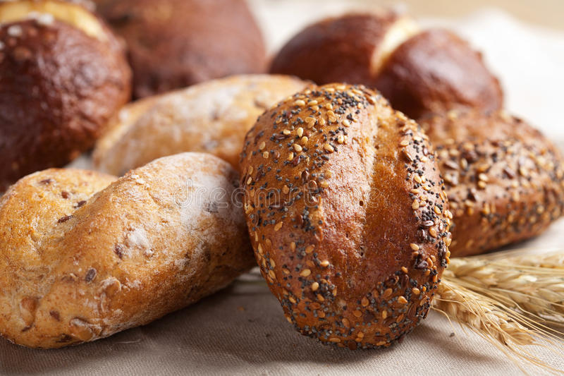 Gezond brood royalty-vrije stock foto