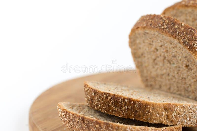 Gezond chronodiebrood over witte achtergrond wordt geïsoleerd royalty-vrije stock fotografie