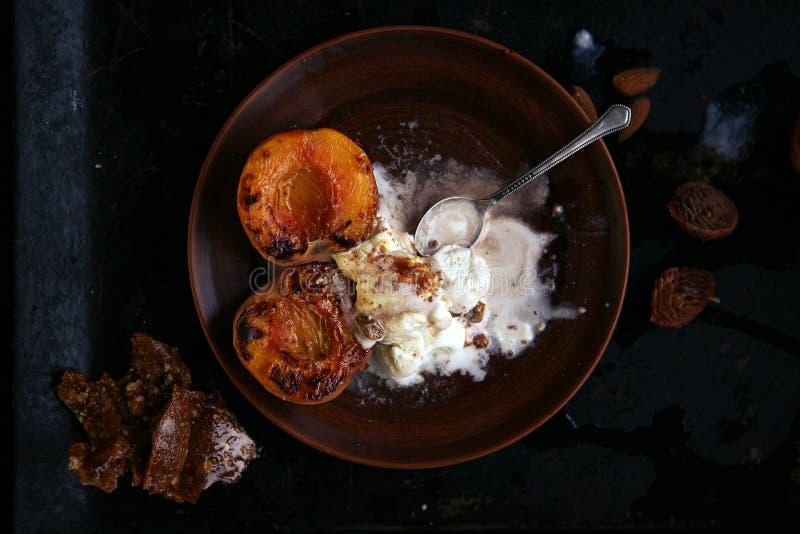 Gezond dessert royalty-vrije stock foto