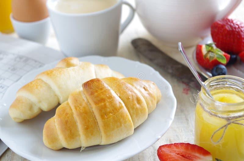 Gezond en aardig ontbijt royalty-vrije stock foto's