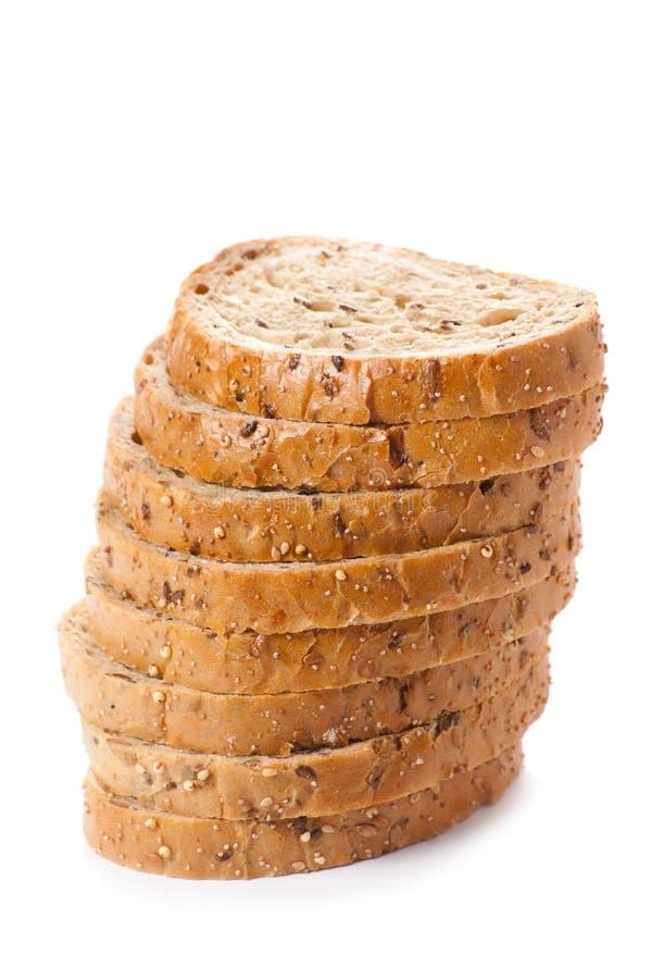 Download Gezond Geheel Korrel Gesneden Brood Met Zonnebloemzaden Op Witte B Stock Afbeelding - Afbeelding bestaande uit achtergrond, besnoeiing: 29510883