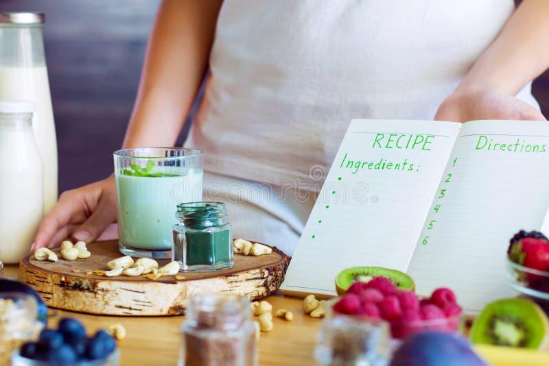 Gezond geschiktheidsvoedsel voor ontbijt royalty-vrije stock foto