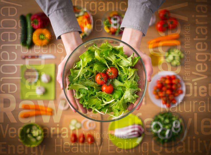 Gezond het Eten Concept stock afbeelding
