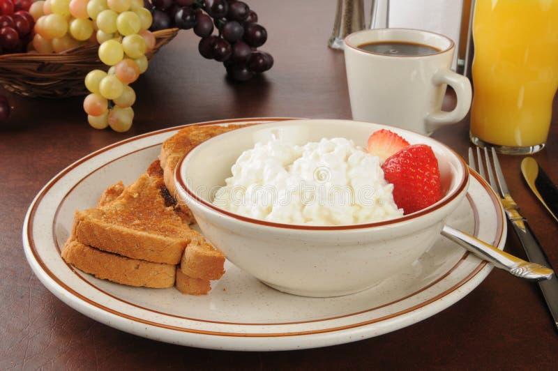 Gezond licht ontbijt royalty-vrije stock foto's
