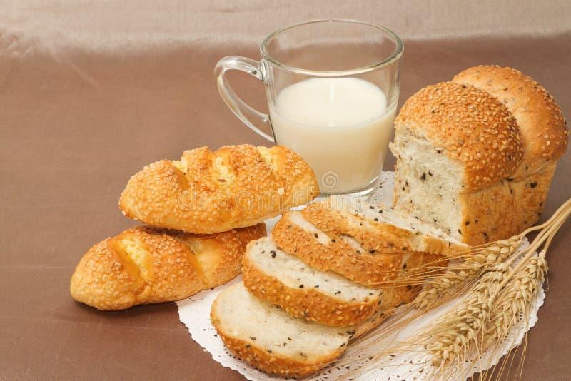 Gezond ontbijtmenu stock afbeelding