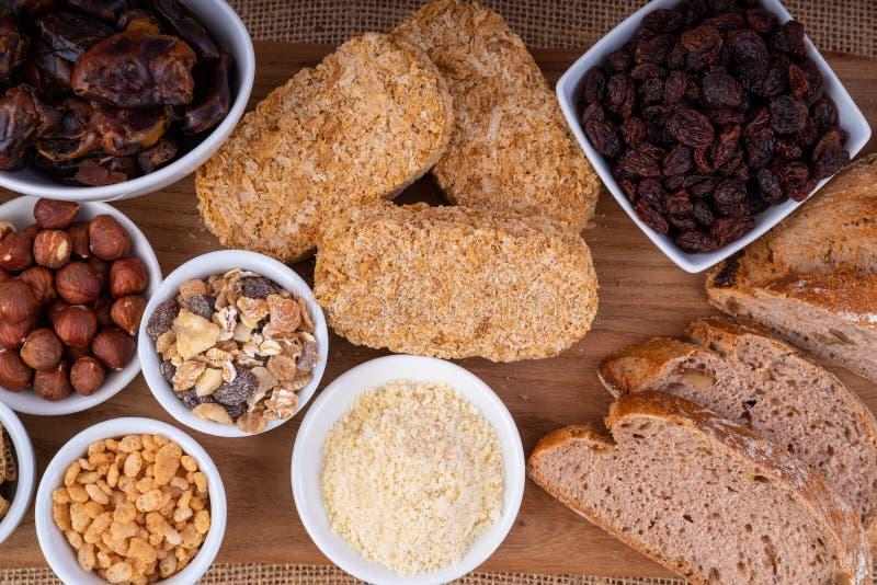 Gezond ontbijtvoedsel stock fotografie