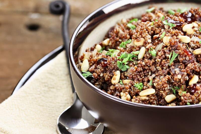 Gezond Quinoa Pilau stock afbeelding