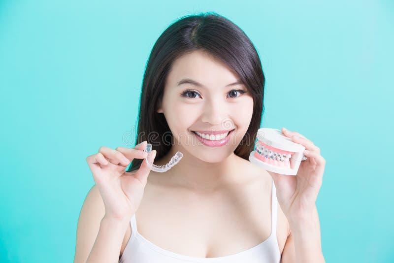 Gezond tandconcept stock afbeeldingen