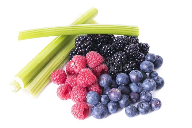 Gezond veganistvoedsel royalty-vrije stock afbeeldingen