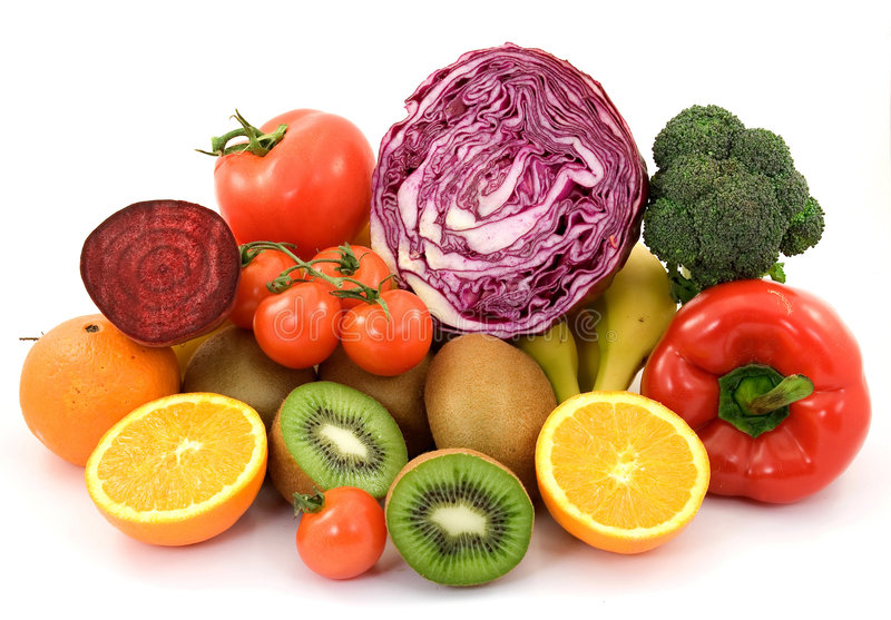 Gezond voedsel royalty-vrije stock fotografie