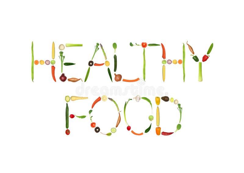 Gezond Voedsel royalty-vrije illustratie