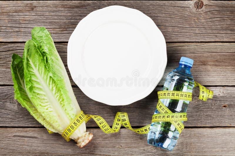 Gezond voedsel en geschiktheid stock foto's