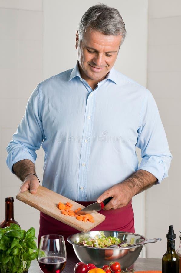 Gezond voedsel thuis royalty-vrije stock foto's