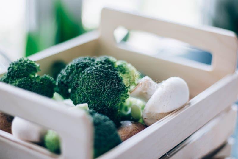 Gezond voedsel voor u stock fotografie