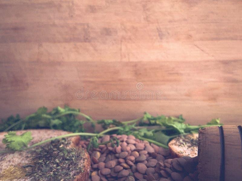 Gezond Voedsel voor Writte binnen Restaurantbanner Veganistvoedsel royalty-vrije stock fotografie